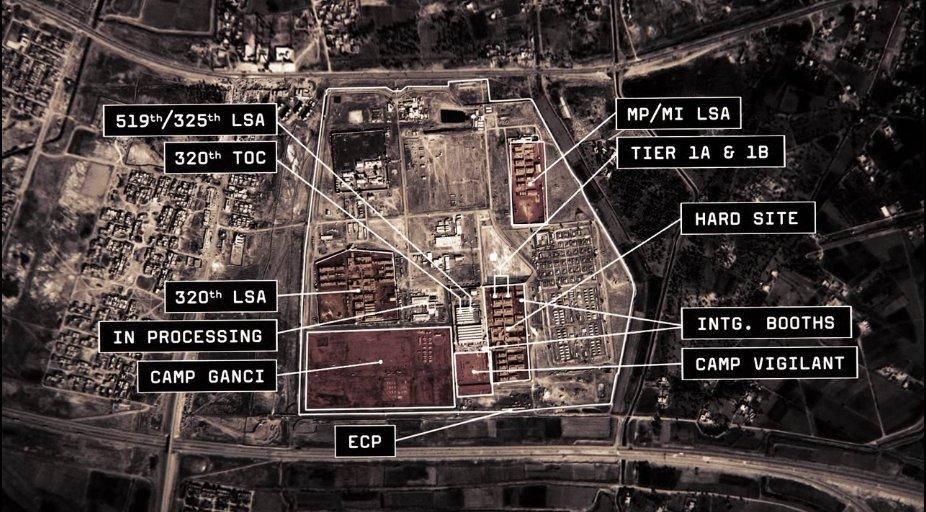 Baghdad Central Correctional Facility or BCCF at Abu Ghraib 2007