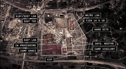 Baghdad Central Correctional Facility or BCCF at Abu Ghraib 2007
