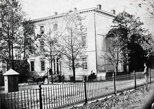 The Confederate White House.  Not a good place for a Yankee lover to be livin'.