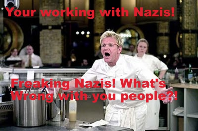 Thank you, Gordon Ramsay, that is a very good question.