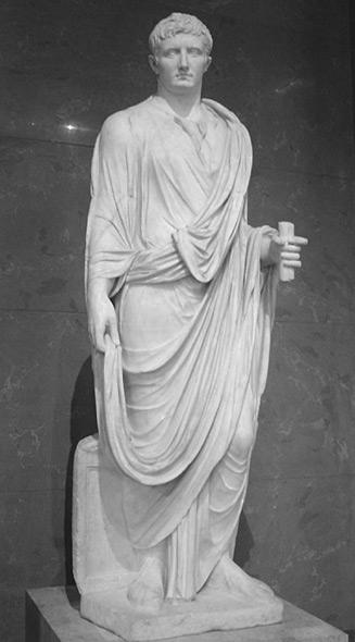 Roman statue...