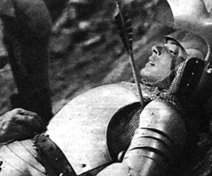 An arrow wound was nothing to laugh at. Especially before anti-septics and pain killers. A arrow from a long bow could not penetrate full plate. A crossbow bolt at close range could or if an arrow got really lucky and got between the armor.