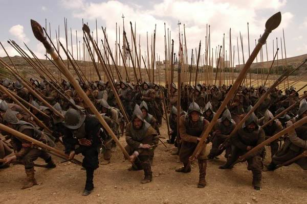 The Swiss Pikemen were some of the most feared infantry in the Middle Ages for a reason. Heavy armor and long pikes. A running wall of death heading straight at you. Yeah, kinda scary.
