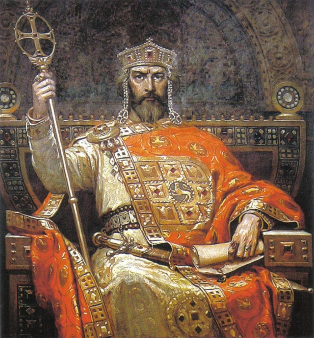 Byzantine emperor is not impressed by your filthy little kingdom.
