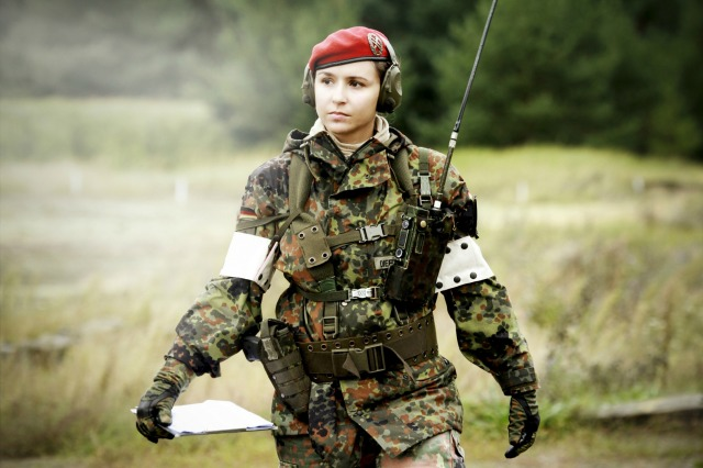 But women cant' be in combat...oh...wait, I guess they can.