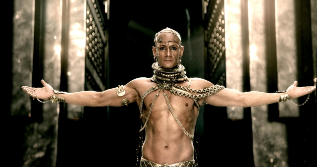 Gaspar - Xerxes, after swearing vengeance against Greece and going on a pilgrimage into the desert, he found a hidden cave where he ascended into godhood and... Buffalo - Hold on! That's from the movie. It's not true, Gaspar. Gaspar - It is so. I swear on my reputation as a historian.