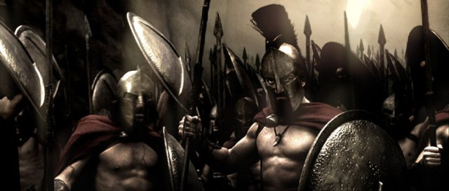 The Spartans were prepared to die and welcomed it. You know I had to use a picture from 300, I couldn't help it. It would have helped if the film makers actually bothered to learn how the Spartans fought.