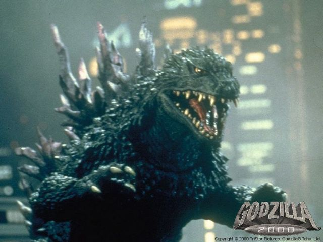 He sports a sleeker, spikier look and isn't good nor bad, but a force of nature. (My favorite Godzilla suit.)