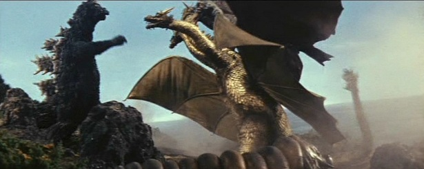 This was the golden age of Toho monster movies. This was monster suited mayhem at its finest.