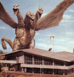 King Ghidorah, Godzilla's arch nemesis.