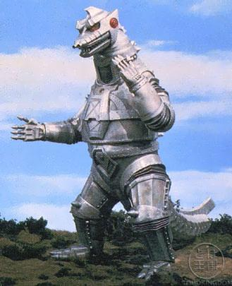 And, Godzilla's other main advisary, Mechagodzilla.