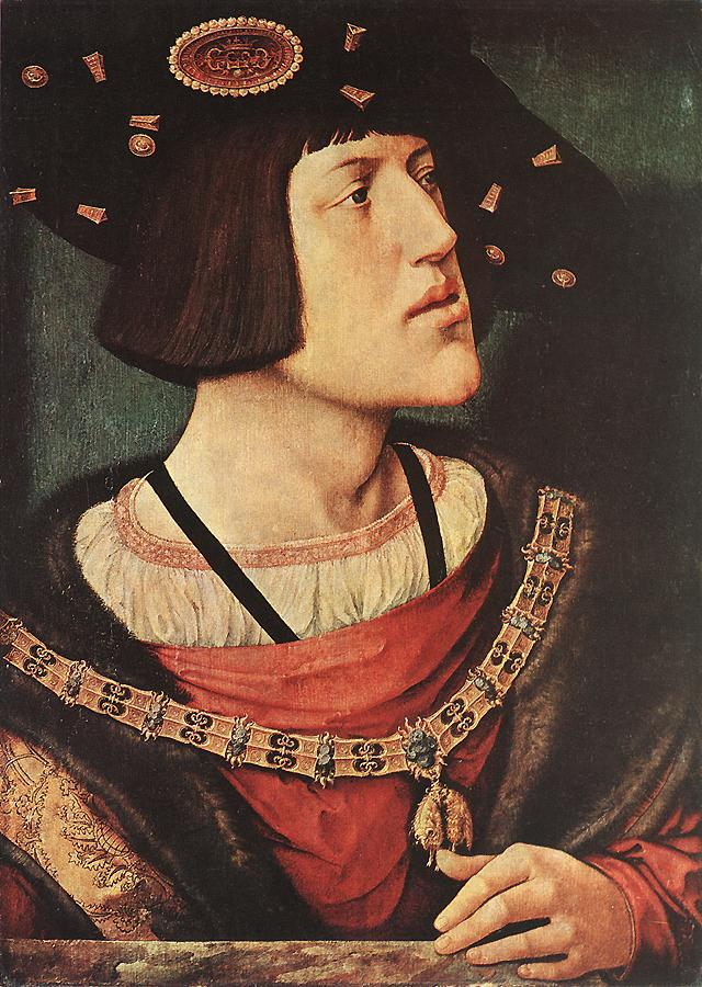 Here's a Hapsburg. You, um...may notice his chin and underbite. Yeah, the Hapsburgs had a habit of marrying close relatives. It didn't go so well for them after a few generations.